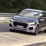 VIDEO: Audi RS Q8 gets caught testing at the 'Ring again